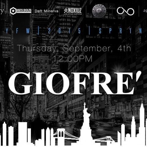 Giofrè al New York Fashion Week